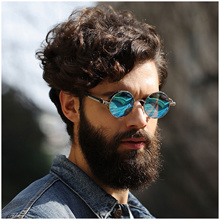 8ade9907b9a Quick View Window OpenWishAdd to Cart. rate 0. discount 2018 Retro Round  Metal HD Polarized Punk Steampunk Sunglasses For Women ...