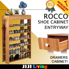 ROCCO! ENTRYWAY Shoe Cabinets! ★Shoe Storage | Organizer | Box ★Bookshelf | Furniture