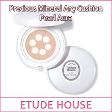 【韩国制造】愛麗小屋Etude 珍珠光感护肤气垫BB霜粉饼遮瑕 Precious Mineral Any Cushion Pearl Aura SPF50+ PA+++ 15g