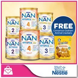 [Bundle Of 6 PROMO] Nestle Nan OPTIPRO® x 6 cans [*FREE Cinnamon Graham Animal Crackers]