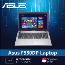 (Asus Certified Refurbished) Asus F550DP Laptop / 15.6 Inch Display / AMD Dual Core A6-5350M / 8GB R