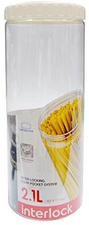 [Home] Lock & Lock Interlock Round Food Container, 2.1L (INL-