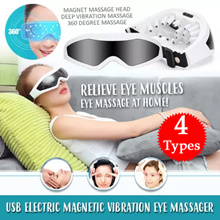 ✨Good quality Eye Massager✨ USB Electric Magnetic Vibration Eye Massager ◆ Eye Serum
