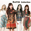 [28 JUNE] BATIK DRESS BLOUSE CHEONGSAM  CULLOTE - Pastel n Bright Colors - Gaun Batik  Moder