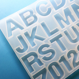 Large Alphabet mold for resin