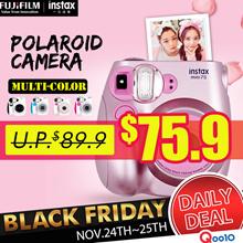 【Fujifilm】** Instax Polaroid Camera **♣ Instax Mini 7s ♣ Honey Pink Panda Special
