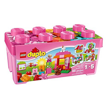 [LEGO] 6059071 - DUPLO All-in-One-Pink-Box-of-Fun 10571 Educational Toy for Toddlers