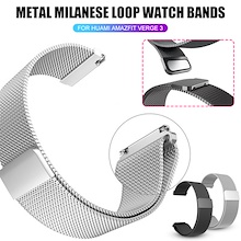 Metal Watch Band Xiaomi Huami Amazfit Verge 3 Wristband Strap