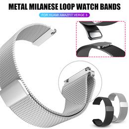 Metal Watch Band Xiaomi Huami Amazfit Verge 3 Wristband Strap