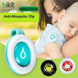 (BUY ONE GET ONE FREE) Korea Bikit Guard Clip MOSQUITO Insect Repellent for adult and children | 100% Natural | Cartoon Stylish