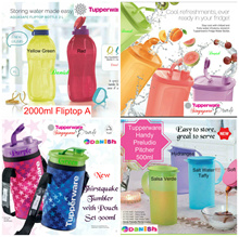 SG Seller★Authentic Tupperware★Fridge 2L Water Bottle School Sports *BPA Free* School Cycle Sports