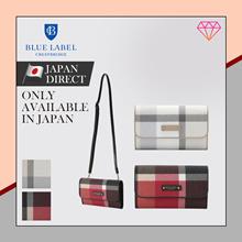 (Blue label crestbridge) Crest Bridge Check PVC Bag Wallet / 2color / 2019 summer new / Japan direct