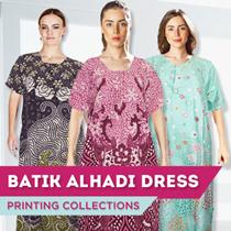 Batik Alhadi Daster Lengan Pendek Batik Collections