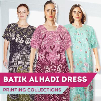 Batik Alhadi Daster Lengan Pendek Batik Collections Deals for only Rp23.500 instead of Rp23.500