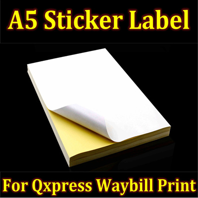 qoo10 a5 sticker label stationery supplies
