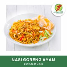 [FAST FOOD] Es Teler 77 Nasi Goreng Ayam