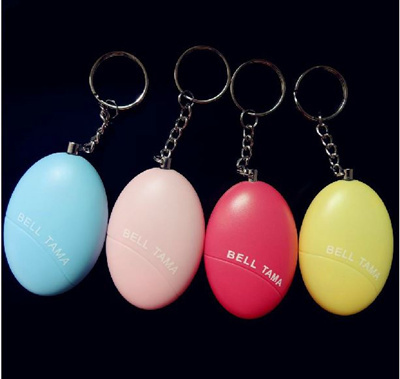 Egg Alarm Anti-Rape Device Tools Womens Defend Oneself Supplies Personal Self-Defense Alarm Apparatus