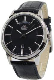 a1e4cf1d264  Creationwatches  Orient Classic Automatic Black Dial FEV0U003B Mens Watch