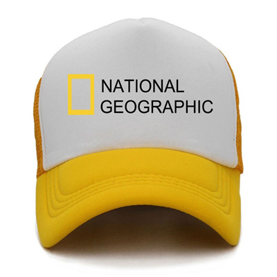 shop National Geographic Channel Cap Men Summer Mesh Baseball Caps Women  Black Cool Outdoor Sports S 494603ebb23