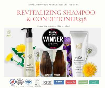 REVITALIZING SHAMPOO + CONDITIONER