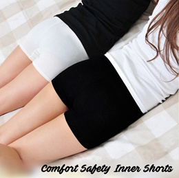 ♥ Comfort Safety Inner Shorts ♥ Basic Essentials! Ice Silk Cloth Material - Soft Comfort