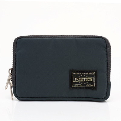 c42570e75311 Yoshida Porter tide of new products for men and women silver nylon clutch  bag keys rectangular