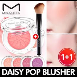 [MACQUEEN] ★1+1★ Daisy Pop Blusher + Gift Cheek Brush