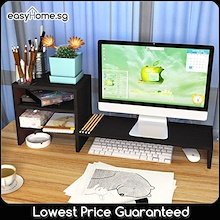 Computer Monitor Stand/ Study Table Desktop Organization Rack Space Saving Storage