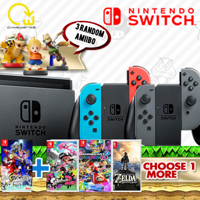 Promotion nintendo hotline, avis nintendo switch store