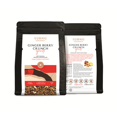 Ginger Berry Crunch (250grams)