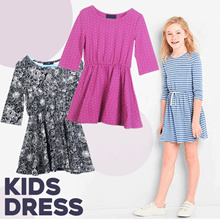 [Millenia ID] Branded Junior  Dress Girls (4-16 Years) - Dress Anak Perempuan - Limited Stock