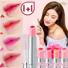 【Secret Key HQ Direct Operation】 ❤1+1❤ Sweet Glam TWO-TONE Glow 3.8g / 5 colors / Easy Lip Gradation