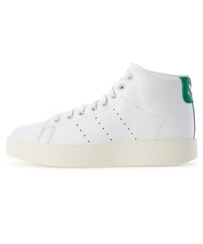 premium selection fb3c1 7a31f (ADIDAS) [BY9663] STAN SMITH BOLD MID W - WHITE