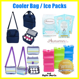 Restocked! Autumnz Cooler Bag Double Compartment for Medela Spectra Ameda Avent