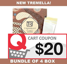 CRAZY $100 NETT!! ♥ [BUNDLE OF 4] ♦ *NEW UPGRADED* [TREMELLA-DX ENZYME DRINK] 16 SACHETS/BOX ♦