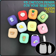 Trace Together Token Cover   Cartoon Silicon Case A   Perfect Fitting   Free Ball Chain and Tag