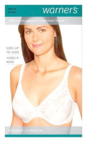 0b88760b249 Qoo10 - Warners Womens Firm Support Lace Underwire Bra (38C ...