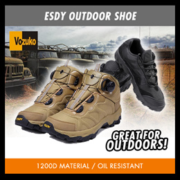 waterproof Coolstuff ESDY outdoor hiking shoe launch in singapore
