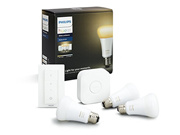 Philips Hue White Ambiance Starter Kit (1x bridge 2x white ambiance bulbs 1x Dimmer switch)