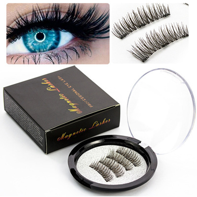 985fb88f7e6 3D Magnetic Eyelashes Sexy Magnetic False Eyelashes Magnetic Eye Lashes  Makeup Kit Gift