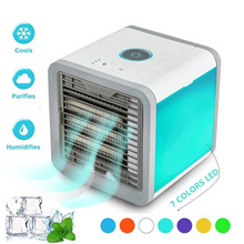 Arctic Air Cooler OEM Portable Mini Personal Air Conditioner Humidifier Purifier 7 Colors Light