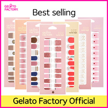 [GELATOFACTORY🍦 OFFICIAL] Nail Sticker Salon-quality Gel Nail in few min with no drying time smudge
