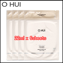 OHUI Miracle Moisture Ampoule and Cream Mask 6sheet (Sample)