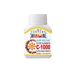 [21st Century]Vitamin C-1000 Slow Release (30s)