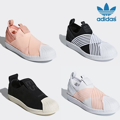 47000f46d20 Qoo10 -  ADIDAS  5 Type Superstar Slip On   Flat price   Qprime ...