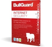 BullGuard Internet Security (1 Year 1 PCs) Product Key Only - by BullGuard Official Partner