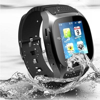 Latest Bluetooth Smart Wrist Watch Phone Hands-Free Phone Call Barometer Altimeter Pedometer Alarm A