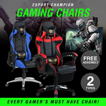 ESport Champion GAMING CHAIRS * ERGONOMIC Design * Extra Padding * Free Assembly