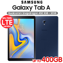 Samsung Galaxy Tab A 10.5 (LTE) SM-T595 32GB / Octa-Core / MicroSD (Up to 400GB)