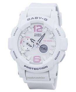 [CreationWatches] Casio Baby-G Shock Resistant Tide Graph Analog Digital BGA-180BE-7B Womens Watch